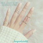 Le regole su come scegliere e indossare gli anelli nel modo giusto