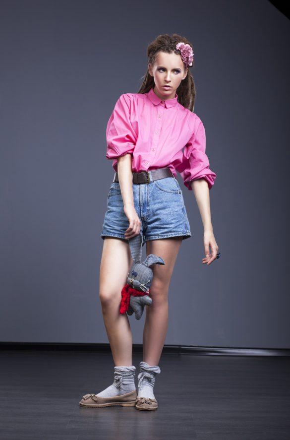 Camicia rosa tendenza moda 2021